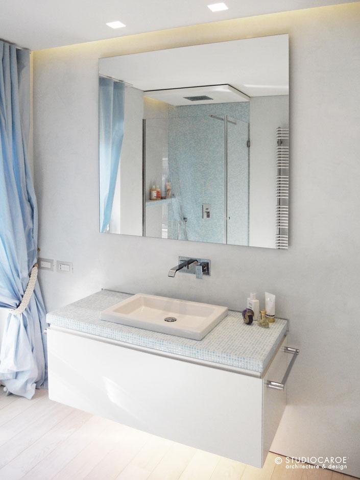 Casa privata arredo bagno garbi pavimenti ceramiche - Arredo bagno mosaico ...