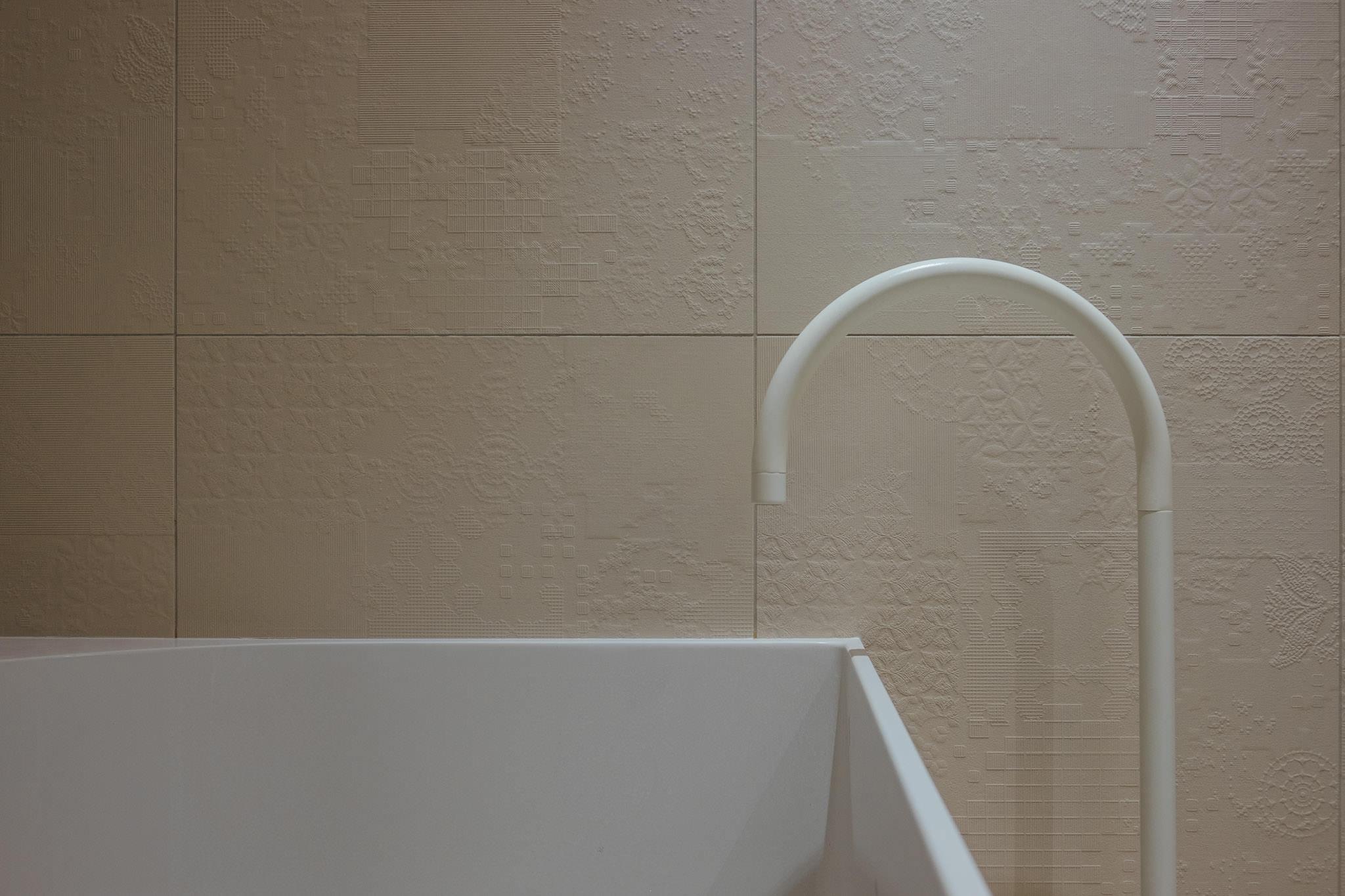 Casa privata arredo bagno u garbi pavimenti ceramiche