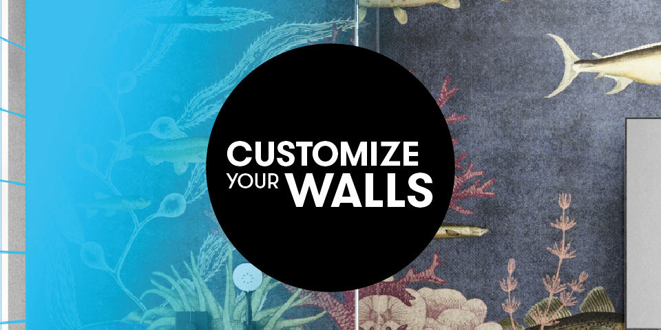 Customize Your Walls Inkiostro Bianco Garbi