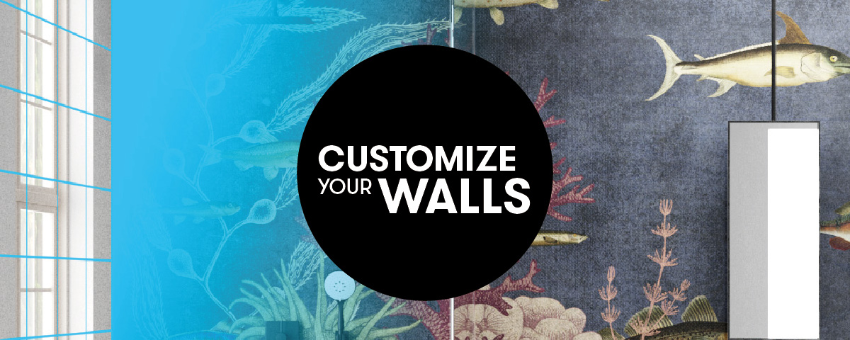 Customize Your Walls Inkiostro Bianco Garbi