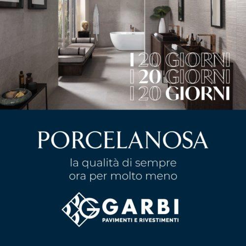 I 20 giorni Porcelanosa Garbi 2020